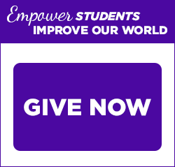 Empower Students, Improve Our World. Give Now.